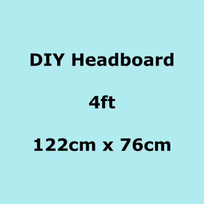 diy headboards 4ft 122 x 76cm