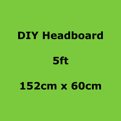 diy headboards 5ft 152 x 60cm
