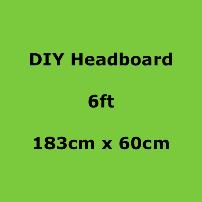 diy headboards 6ft 183 x 60cm