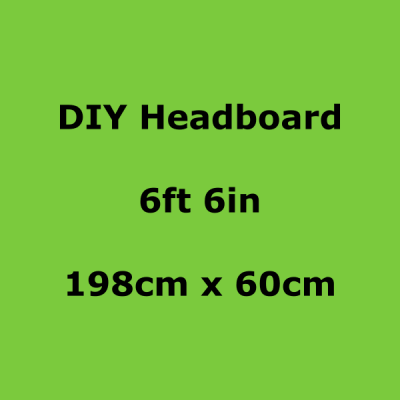 diy headboards 6ft 6in 198 x 60cm