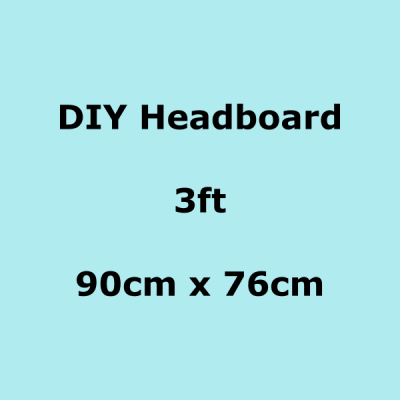 diy headboards 3ft 90 x 76cm