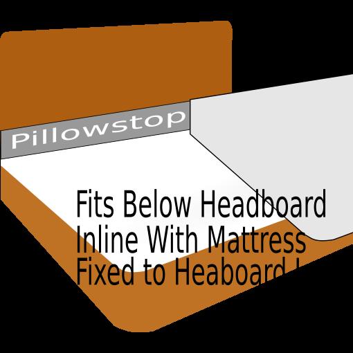 Headboard Pillowstop